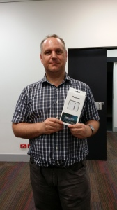 Door Prize Winner Charles Hacker
