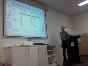 Mark Patterson presenting on anonymous methods