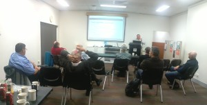 Jim Gilmour presenting on Fast Reports